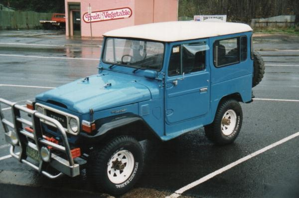 "1982 FJ 40 Toyota Landcruiser SWB.. the ""Forty Shorty"""