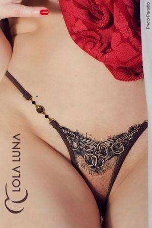 String pour Travesti Lola Luna Natacha