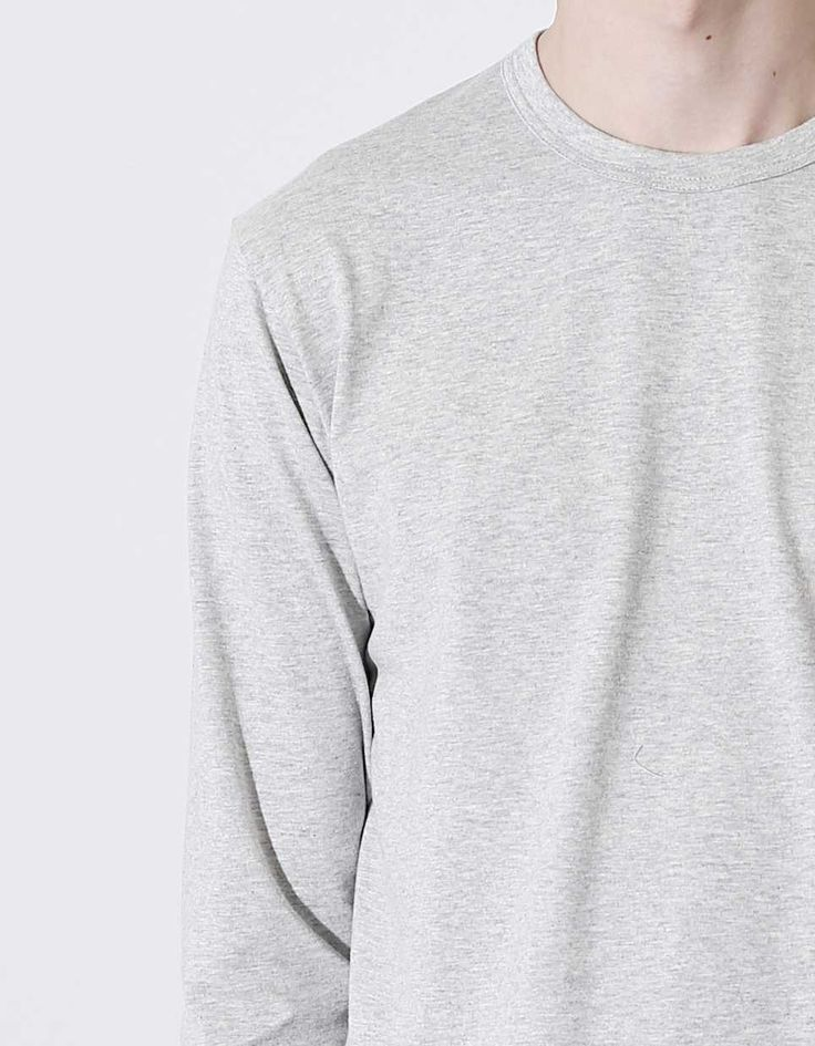 Comme des Garçons SHIRT Forever L/S Tee Grey - Nitty Gritty Store