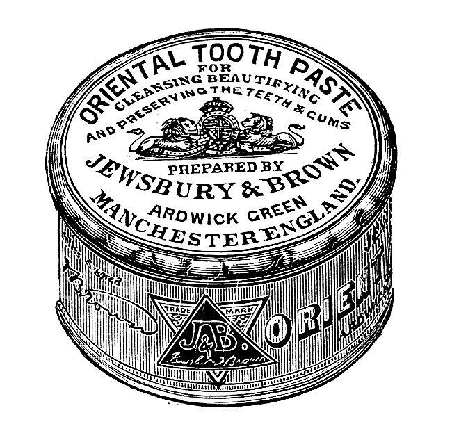 Exotic-sounding toothpaste