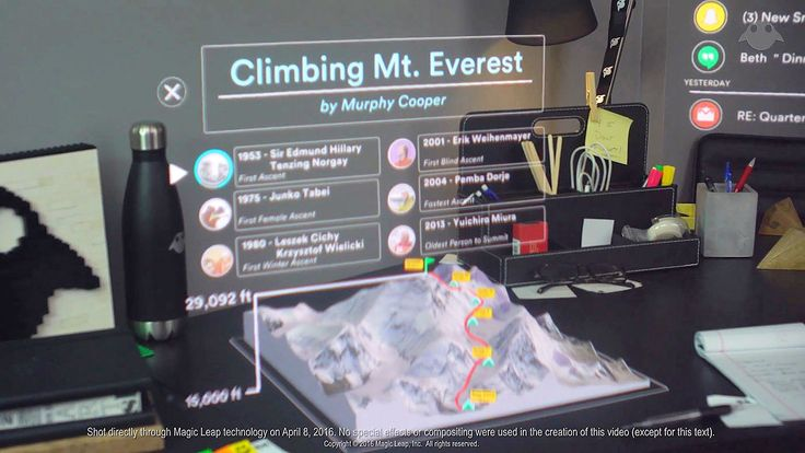 Magic Leap reveals extra about its 'blended actuality' tech