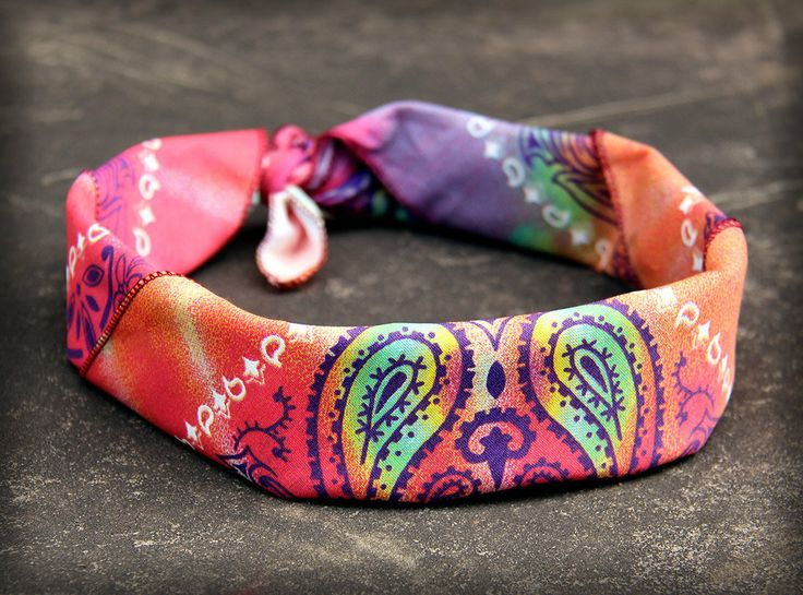 .Tie day headband. Love this!