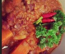 Recipe sweet potato chilli 150cal approx per serve by jeodon - Recipe of category Main dishes - vegetarian