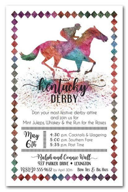 422 best Kentucky Derby images – Derby Party Invitations