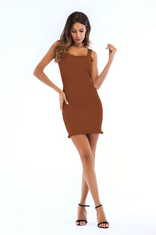 4c2834fe0cee Women Elegant Summer Off Shoulder Bodycon Tight Knitted Dress in ...