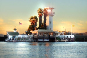 """""""Forbes is a floating island in Sea Lion Harbor with views of Alcatraz and nearby sunbathing sea lions. The restaurant serves an American fine dining menu, in underwater dining rooms, and it also has an underwater bar."""" - I want to eat here one day!"""