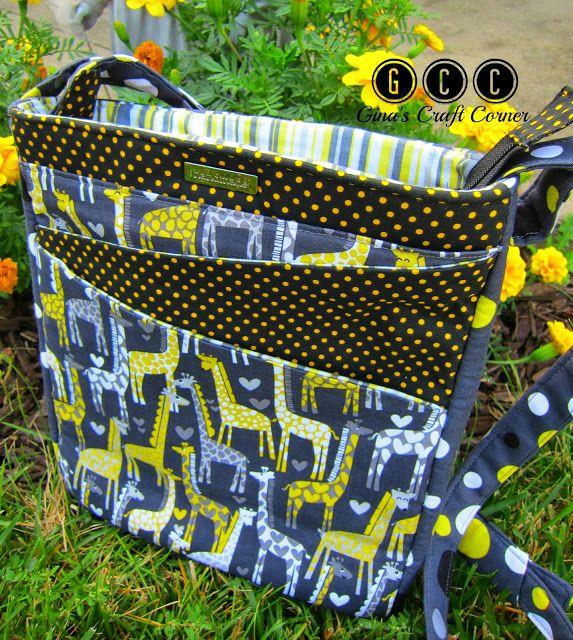 Fabulous Crossbody Bag DIY | Gina's Craft Corner - BeBetsy