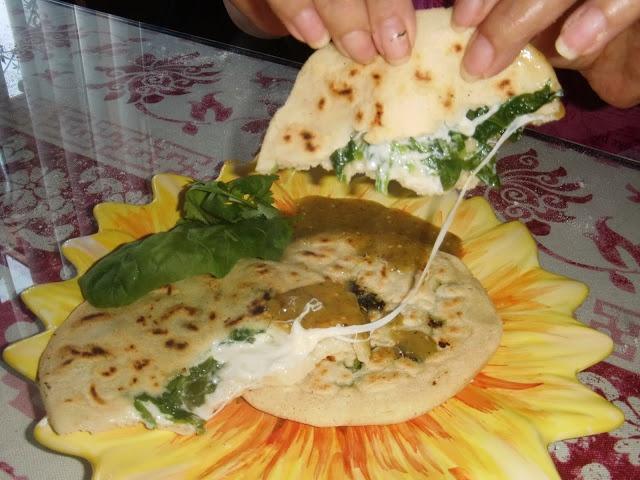 : Spinach Pupusas