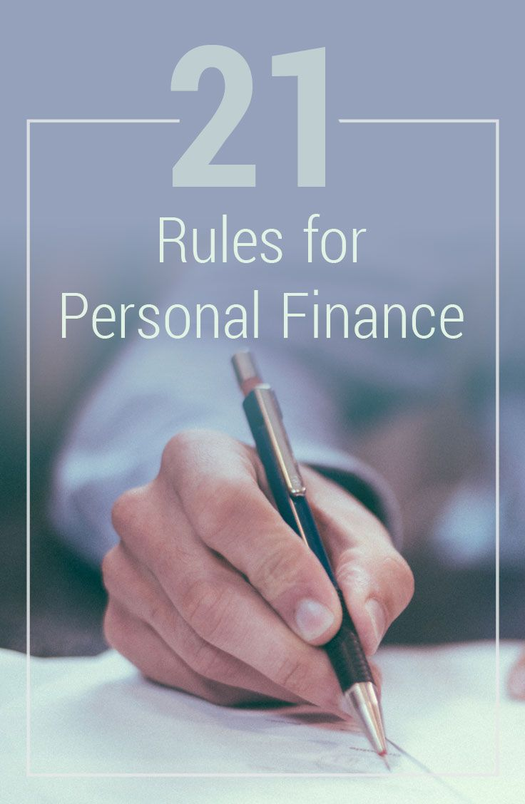 "This past month, I came across an excellent post by Certified Financial Advisor, Ben Carlson, entitled ""20 Rules for Personal Finance."" I thought it was so practical and succinct, I asked Ben if we could repost his ""rules for personal finance."""