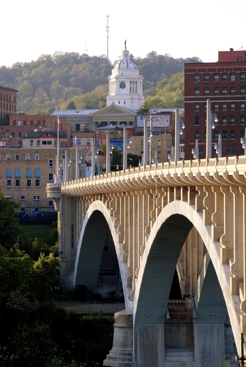 Fairmont, West Virginia...<3 jeremy & I have spent alot of time here with family and friends.