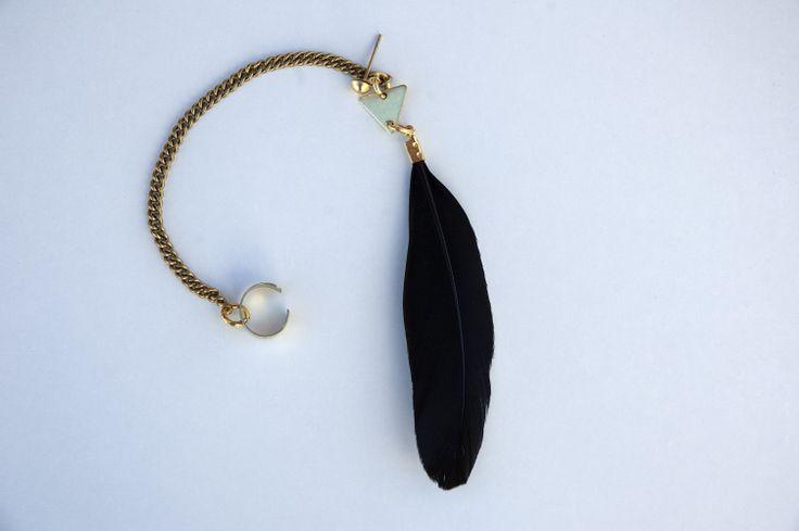 Feather Bohemian Ear Cuff https://www.etsy.com/listing/190374443/feather-bohemian-ear-cuff?ref=listing-3