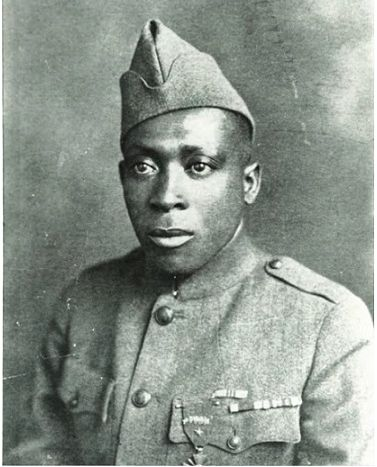 """WWI """"Harlem Hellfighters"""" Henry Johnson """"Black Death""""▼ Germans named them """"Harlem Hellfighters"""" out of fear https://en.wikipedia.org/wiki/369th_Infantry_Regiment_(United_States) SEE ALSO """"William Henry Johnson"""": https://en.wikipedia.org/wiki/Henry_Johnson_(World_War_I_soldier)"""