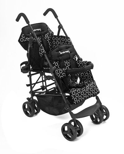 HOP - Black/Black this will be my double stroller for the day I decide I'm ready for another little one. Love it!!