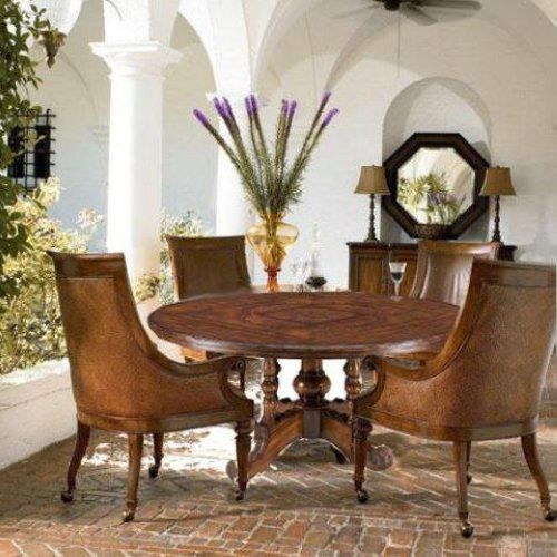 Ernest Hemingway Leather Valencia Club Chair Set
