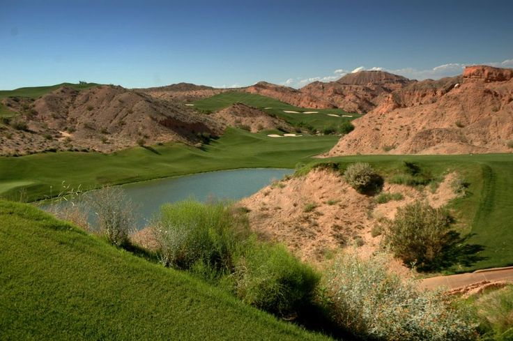 Las Vegas, Nevada - Mesquite CA.  Like golfing in the Grand Canyon....Must play!