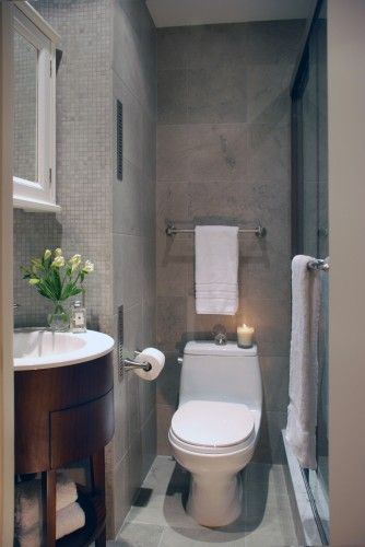 Small Basement Bathroom Reminds Me Of One I Used A Long Time Ago