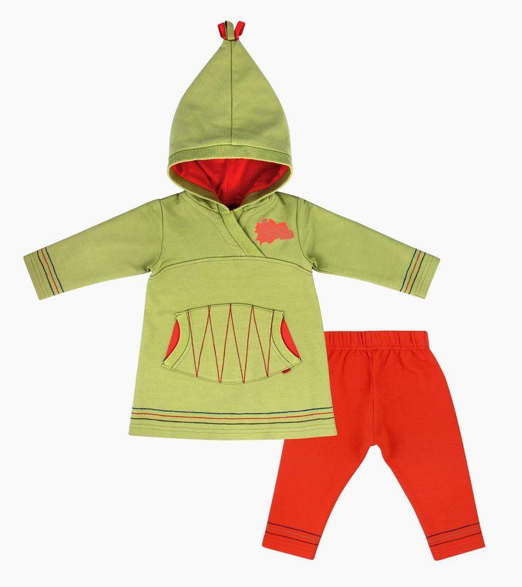 Туника с капюшоном и леггинсы - Интернет-магазин детской одежды «Сами с Усами»