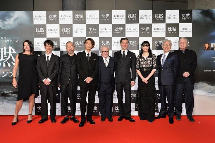 スコセッシ監督「この映画の礎は日本人キャスト」 映画「沈黙」ジャパンプレミアでキャスト舞台あいさつ : 文化 : クリスチャントゥデイ