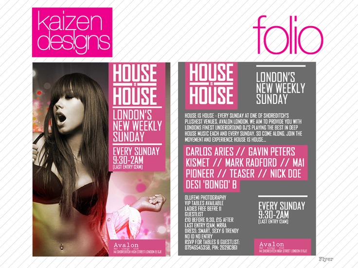 boutique flyer