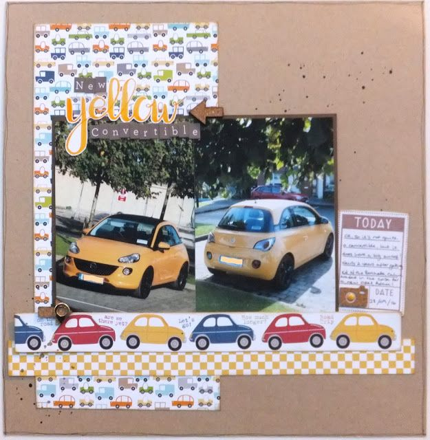 The Crafty Grockle: New Yellow Convertible