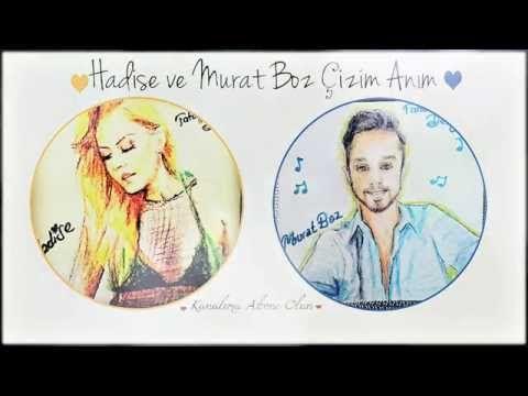 Hadise & Murat Boz Çizimim/ realistic drawing of Hadise & Murat Boz - YouTube