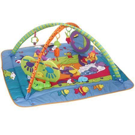 Развивающий коврик Tiny Love Зоосад  — 5590р. ------------------ Развивающий коврик с игровым музыкальным центром не даст вашему малышу заскучать. Огромное количество различных элементов помогут ему активно развивать тактильное восприятие и навыки мелкой моторики.