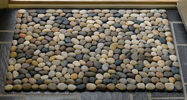 1000 images about craft projects on pinterest crafts for River stone bath mat