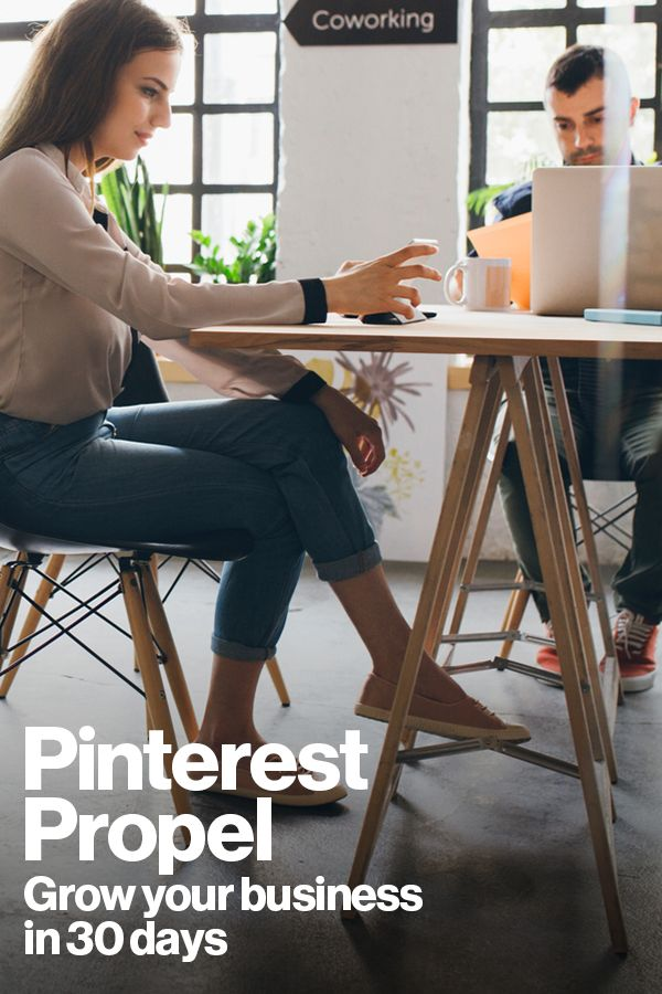 Our new 30 day program offers free one-on-one support, custom-made ads and success strategies from our experts to help you make the most of your marketing budget. Sign up for Pinterest Propel!