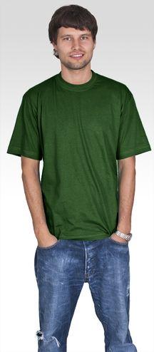 WYGODNY T-shirt męski PromoStars HEAVY zieleń rM