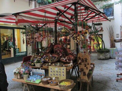 Salzburg shopping stall