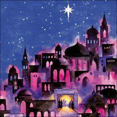 bethlehem christmas art - Google Search