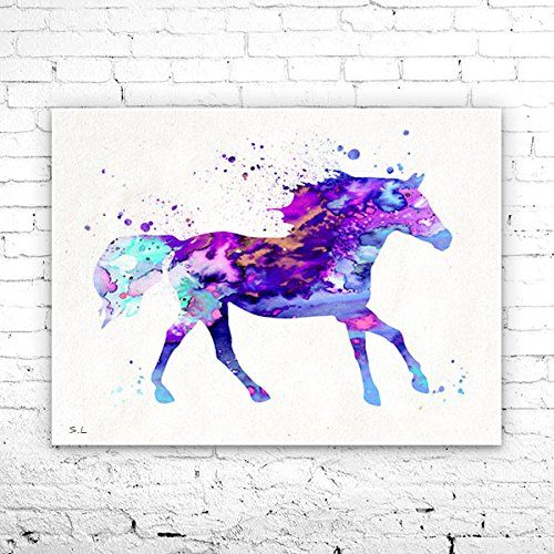 Horse 6 Watercolor Print, watercolor painting, watercolor art, Illustration,home decor, watercolor animal, Horse poster, Horse print. Horse 6 Watercolor Print, watercolor painting, watercolor art, Illustration,home decor, watercolor animal, Horse poster, Horse print, My prints are made in my own art studio by me, using Epson Pigment Inks, which are tested and guaranteed not to fade for at least 100+ years and fine art watercolor paper. I use Epson best wide format printers! If you are...