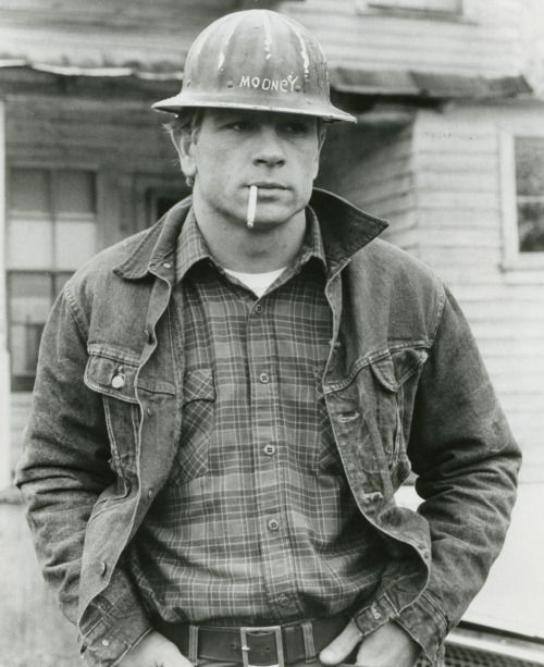 "lottereinigerforever:  young Tommy Lee Jones in ""Coal Miner's..."