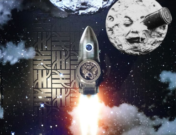 Click here for takeoff >>>http://dietlin.ch/page.php?id=3159&gr=329&nv=4 @Hublot #TripToTheMoon by George Méliès