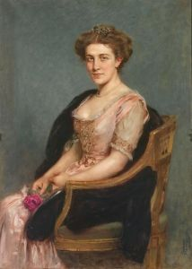 Portrait of a Lady - Arthur von Ferraris - The Athenaeum