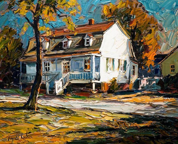 Raynald Leclerc - Morning Light, Sillery House