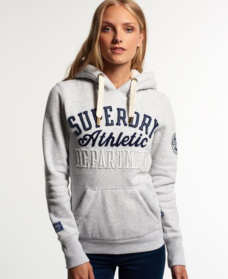 Superdry Borg Lined Applique Hoodie
