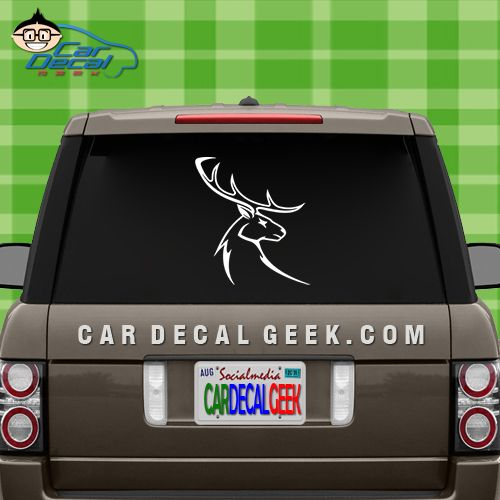 Best Hunting Car Decals And Stickers Images On Pinterest Car - Decals for trucks customizednailed it plumbers custom car decal that makes him look like