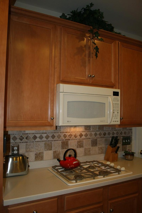 find this pin and more on tile flooring by vangeli kitchen backsplash ideas