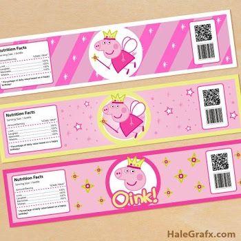 Peppa Pig Fairy Free Printable Mini Kit.