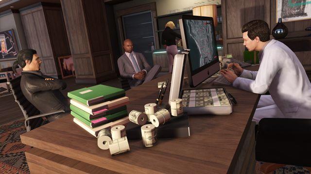 """Comme annoncé il y a peu, Grand Theft Auto Online va bientôt avoir le droit à une nouvelle mise à jour. Dès le 7 Juin prochain, l'update intitulée """"Haute Finance"""" sera l'une des plus importantes à ce jour et sera du même acabit de Truands en col blanc et vous proposera une fois pour toute de devenir un véritable baron du crime de Los Santos en devenant le patron de votre propre entreprise criminelle."""