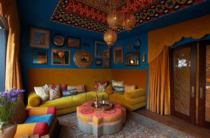 Moroccan Decor via Houzz