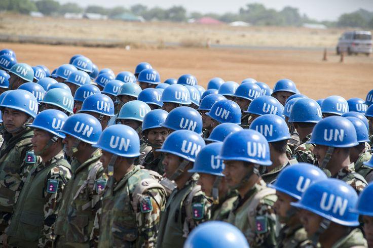 UN culture's blue helmets were born in Florence