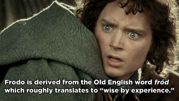 Frodo Baggins - Lord of the Rings | 17 Famous Characters With Hidden Meanings In Their Names