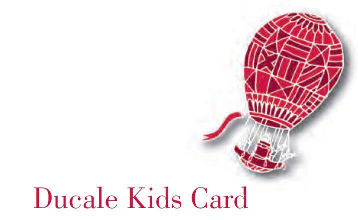Ducale Kids Card un regalo alternativo per i tuoi bambini. Regala a Natale i laboratori ideati dai Servizi educativi e Culturali di Palazzo Ducale. Per saperne di più scrivi a didattica@palazzoducale.genova.it