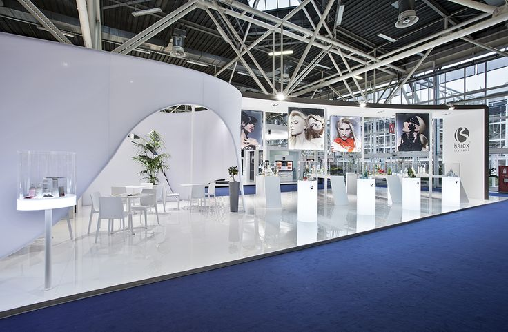 Barex Italia - Cosmoprof Bologna  #architecture #fabric #design #stand #retail #temporary #fair #booth #structure #white #sustainability