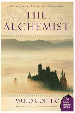 The Alchemist: This book is amazing. It's about the journey of a lifetime and following your dreams. It is one of the first books I talked Billy into reading, so one of the first books he ever agreed to read for fun. It's that good.