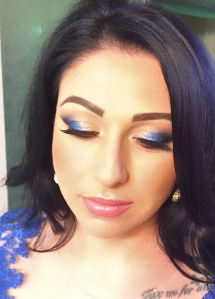 www.makeupelena.ro Blue make-up ❤️