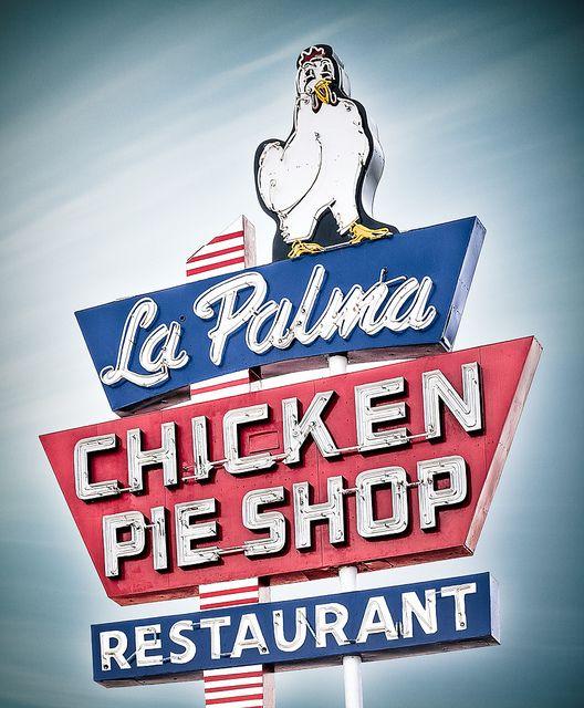 La Palma Chicken Pie Shop by Shakes The Clown, via Flickr