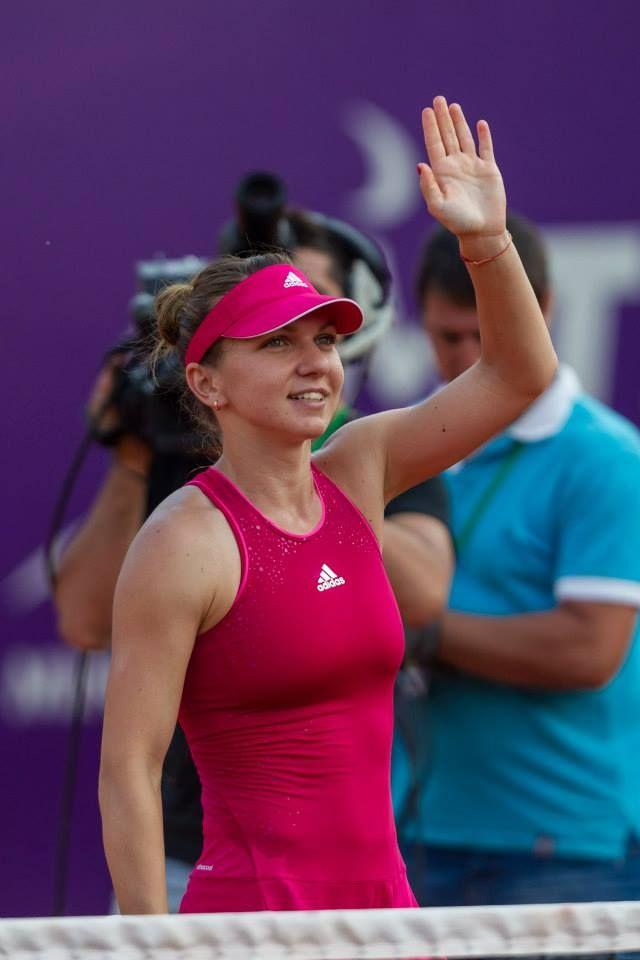 Simona Halep vs. Indy de Vroome @ Bucharest Open (2014)